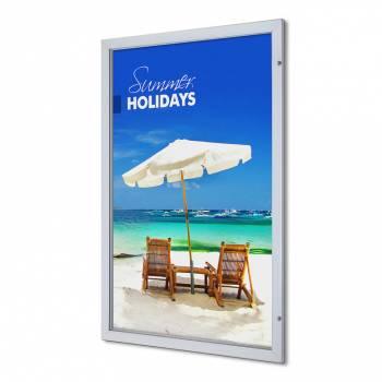 Interiérová uzamykatelná vitrína Premium 1016x1524 mm