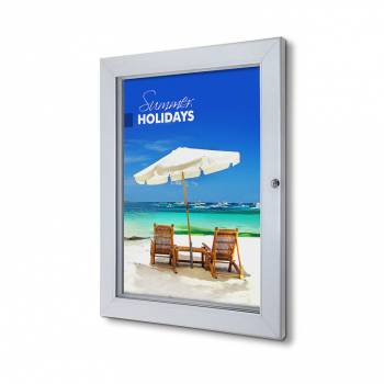 Interiérová uzamykatelná vitrína Premium A2