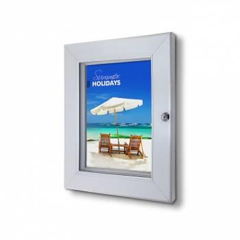 Interiérová uzamykatelná vitrína Premium A4
