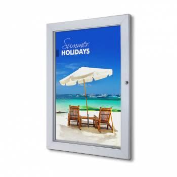 Interiérová uzamykatelná vitrína Premium 508x762 mm