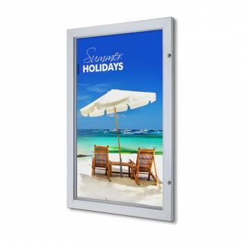 Interiérová uzamykatelná vitrína Premium 635x1016 mm
