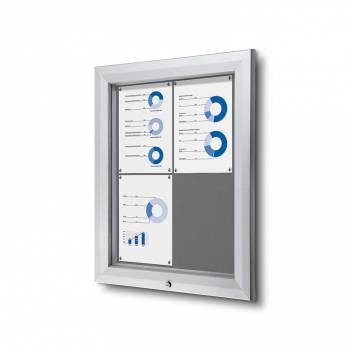Uzamykatelná informační vitrína SCTF A4