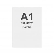 Látka s potiskem pro napínací rám, materiál Samba (PES)