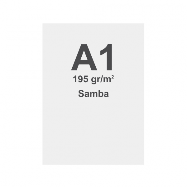 Sublimation print fabric with keder, DIN A1, SAMBA 195g/m2, B1