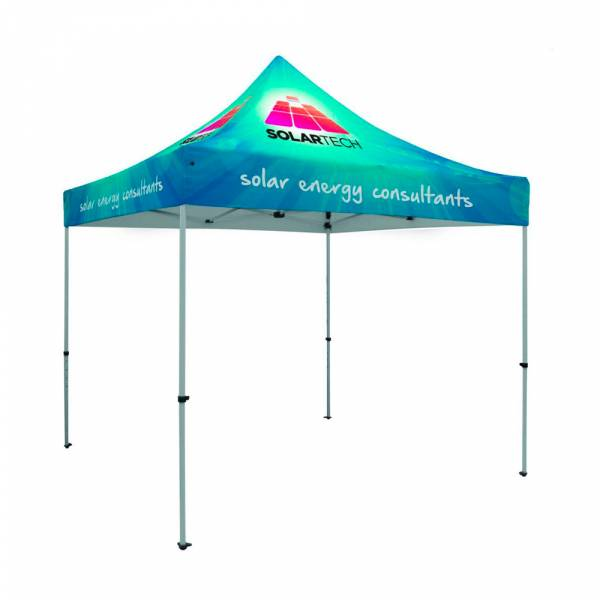 Tent alu 3x3 mtr incl. bag & stake kit