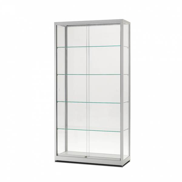 Skleněná produktová vitrína 1000x1972x400mm