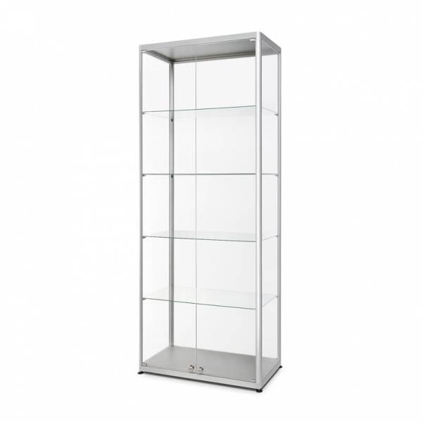 Skleněná produkt. vitrína VR2 - 800x2000x400mm, 2-křídlé dveře