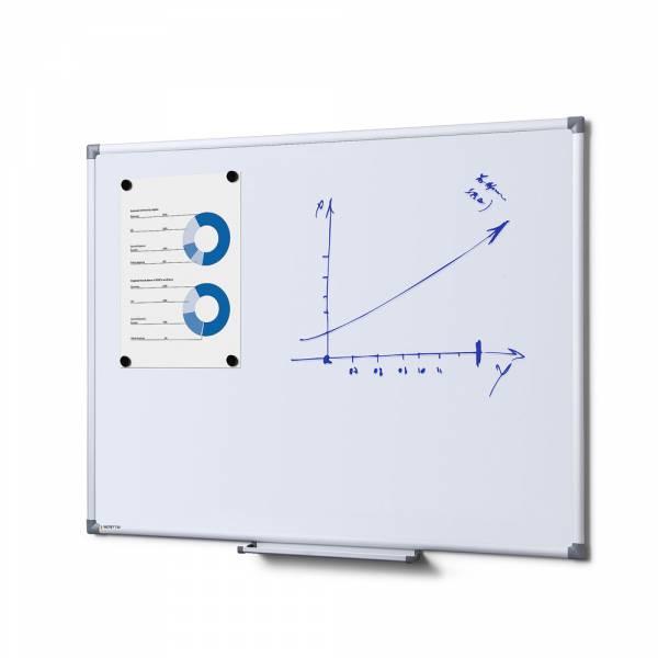 Popisovatelná magnetická tabule - Whiteboard  SCRITTO  90x60 cm