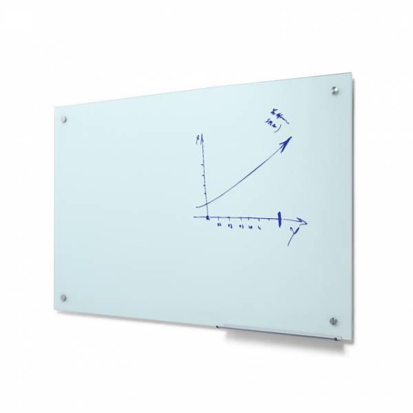 Popisovatelná skleněná tabule , mléčná, 90x120cm