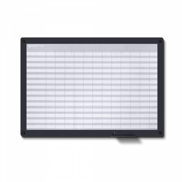 Plánovací tabule Glassboard, 900x600mm