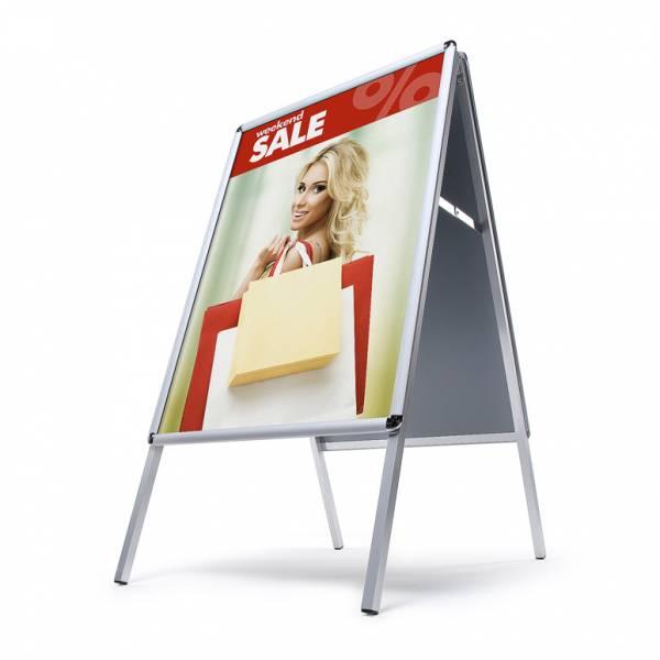 Interiérové reklamní áčko A1, oblé rohy, profil 25mm