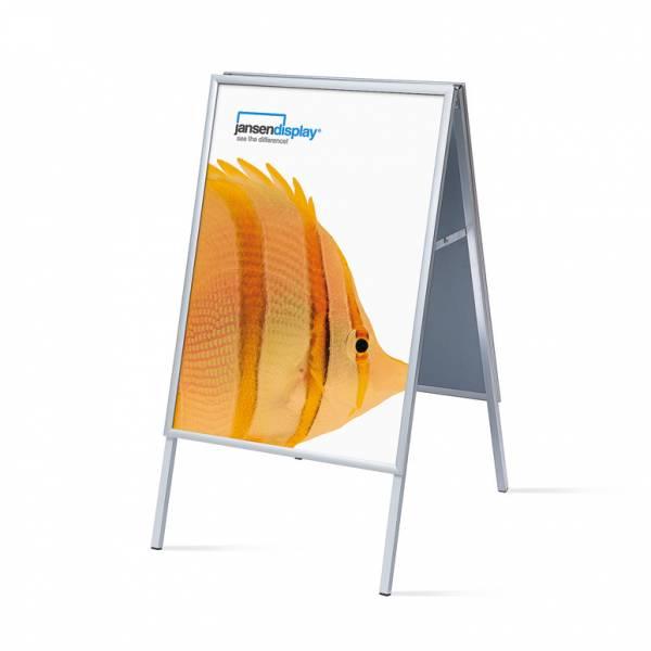 Interiérové reklamní áčko A1, ostrý roh, profil 20mm