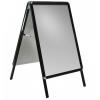 Interiérové reklamní áčko A1, oblé rohy, profil 25mm - 14