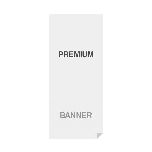 Prémiový banner s potiskem, materiál No Curl (PET/PP)